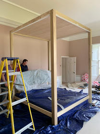 Construction of Four Poster Bed