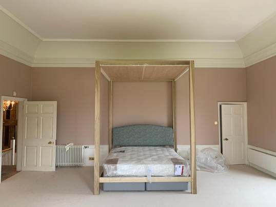Four Poster Ready For Dressing