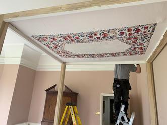 Installation of Canopy