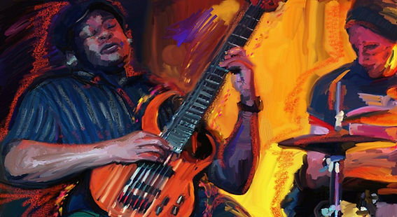 Wayne Matthews, bass.