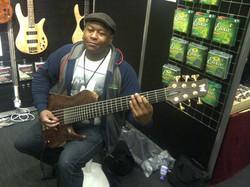 3 Way Split Bassist - Wayne Matthews