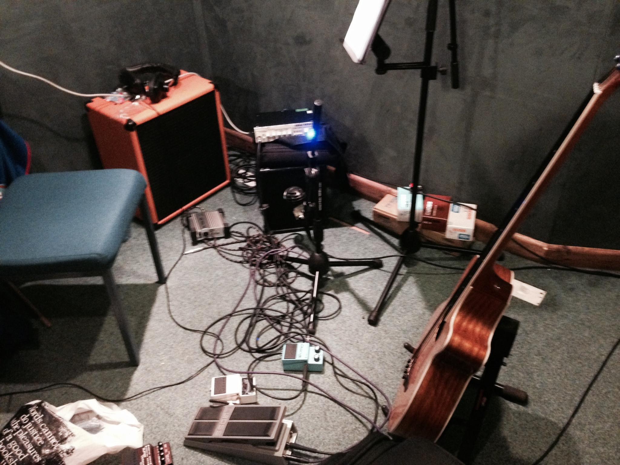 Wayne's Bass Rig setup