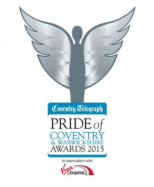 """Pride of Coventry Awards 2015"" ""Coventry  Cathedral"" ""Ruder Than U"""