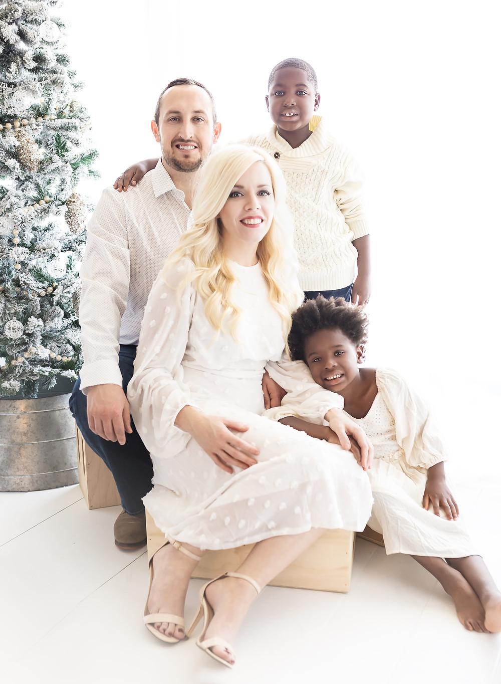 Oklahoma City family studio portrait photography