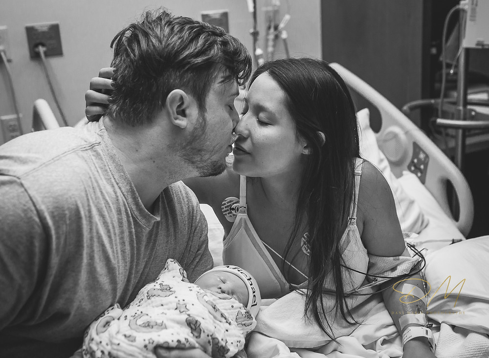 Mercy Hospital in Oklahoma City celebrates birth of another baby captured and documented by Birth Photographer in Edmond, OK Dani Marie Photography