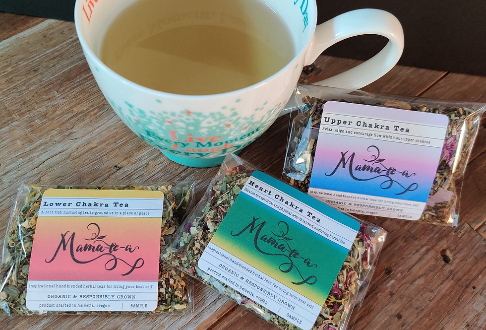 CHAKRA TEAS & SETS