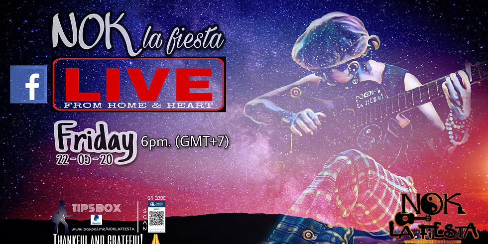 NOK la fiesta LIVE FROM HOME & HEART