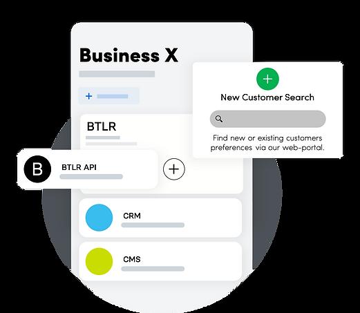 Integrate, Automate & Seach customer pre
