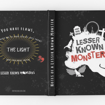 Lesser Known Monsters hardback journal