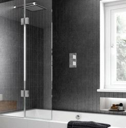 Bath screens provide the perfect solution for over the bath showering.