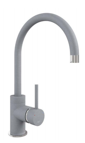 COURBE CURVED SPOUT - CHROME