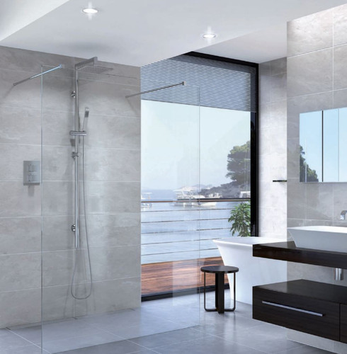 Shower Screen Double Entry