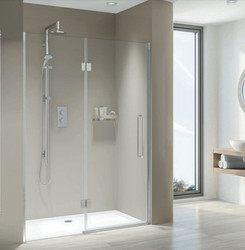 These are characterised by spans of 10mm toughened glass, providing a lifetime of luxury showering