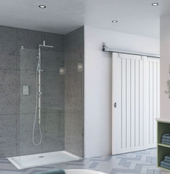 This shower screen brings the ultimate in luxury showering and are ideal for walk-in wetroom style showering spaces, providing a secure water barrier and a sleek look.