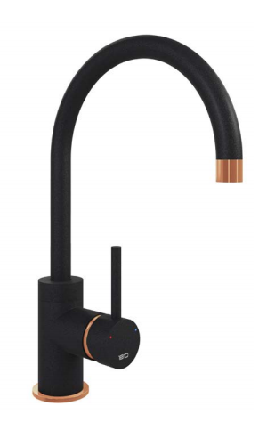 COURBE CURVED SPOUT - COPPER