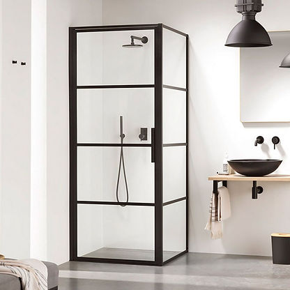 IMPEY SOHO SHOWER ENCLOSURE STOCK PHOTO.