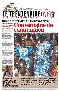 Journal de Moossou numéro N°01 du 04 mai