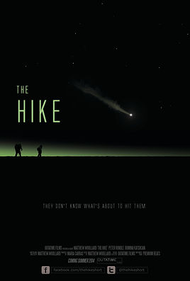 The Hike short film movie poster