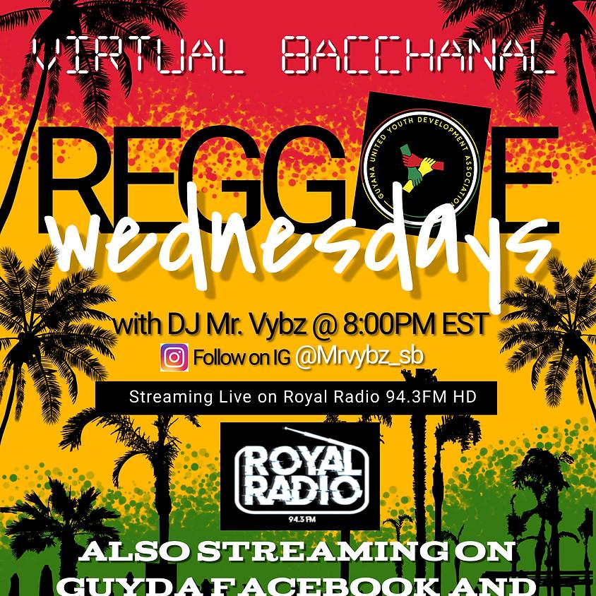 Virtual Bacchanal Reggae Wednesdays