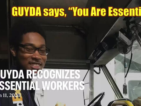 GUYDA provides food packages for FedEx Essential Workers