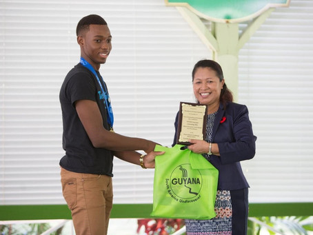 Congratulations to Team STEM Guyana!