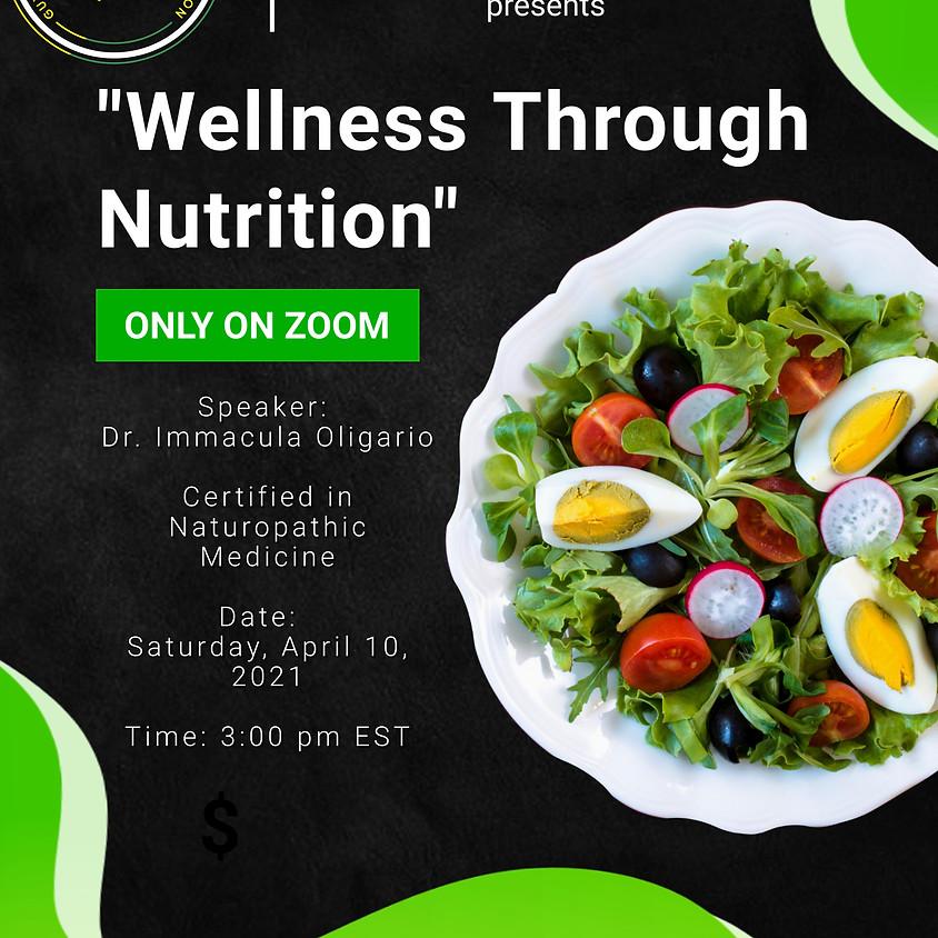 """GUYDA presents """"Wellness Through Nutrition"""""""