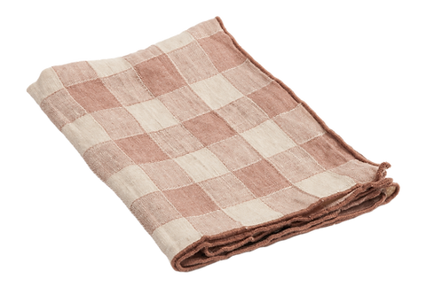 Küchentuch, Canvas Vintage Vichy, Rose