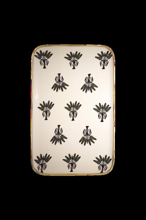 Tablett 27 x 42 cm, Art Déco