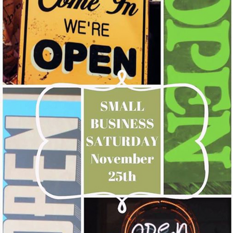 Today is Small Business Day