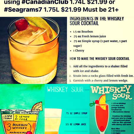 🥃Happy National Whiskey Sour Day🥃