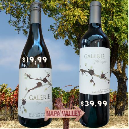 96-Point Napa Valley Cabernet &  93-Point Sauvignon Blanc With Impressive Pedigree