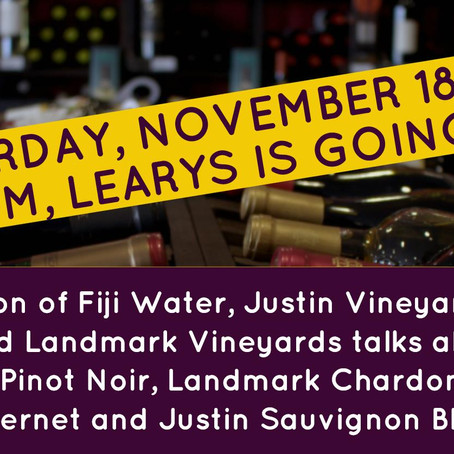 Wine Tasting Event Today from 4-7PM