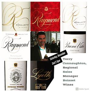Terry Connaughton, Regional Sales Manager Boisset Wine