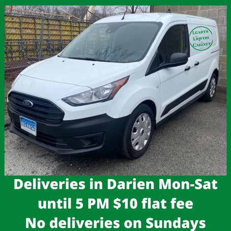 Delivery Available in Darien