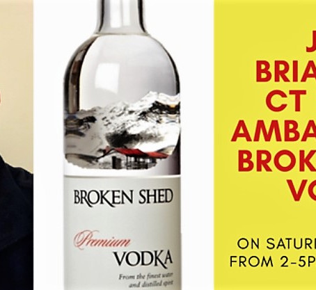 Broken Shed Vodka Tasting