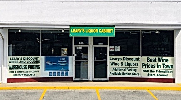 Learys Liquor Cabinet Shop Front