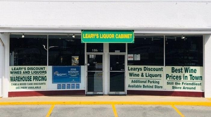 Learys Liquor Cabinet Shop Front