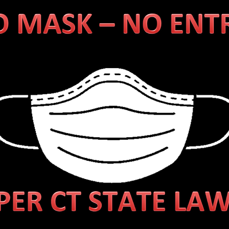 Starting Tuesday, April 21st All Customers must Wear a Mask or Face Covering to be Allowed In-Store