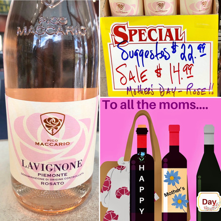 🌸💐🌺🌹THE PERFECT ROSÉ FOR MOTHER'S DAY 🌹🌺💐🌸