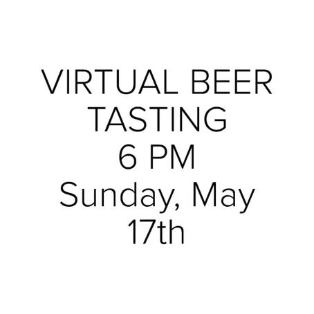 🍻Virtual Beer Tasting