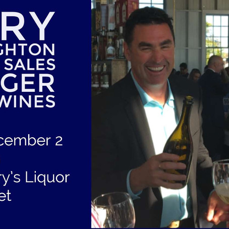 Wine Tasting December 2nd 2-5pm at Learys