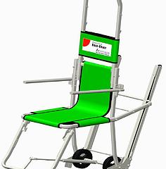 "Internally-developed Emergency Evacuation Chair ""Best-Chair"" Start sales."