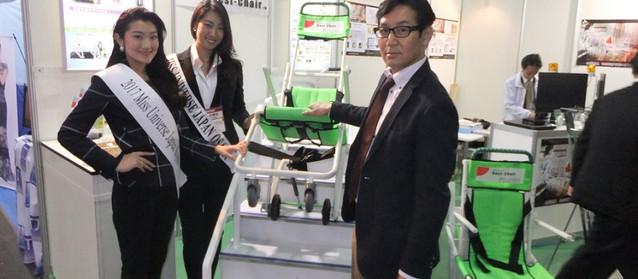 メディカル ジャパン 2017 大阪(第3回 日本 医療総合展)  自社開発の階段対応イスBest-Chairを出展しました!