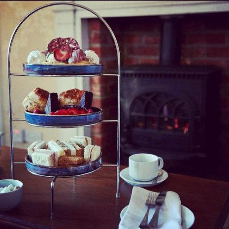 Afternoon tea and massage