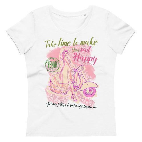 Ženska telirana BIO majica -Take time to make...-