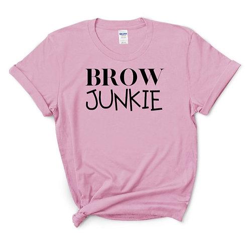 Brow Junkie T-shirt
