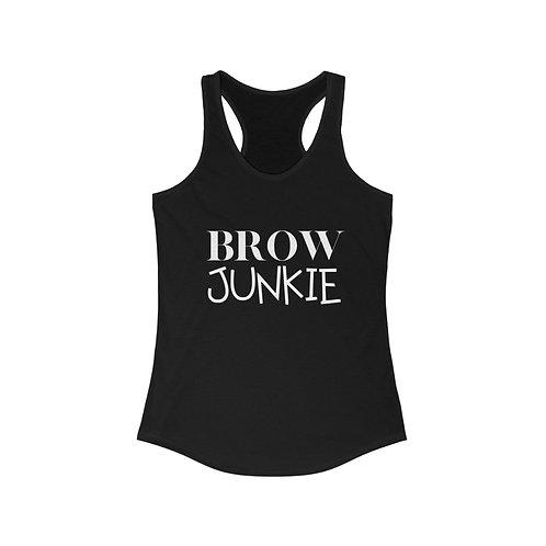 Brow Junkie Racerback Tank Top