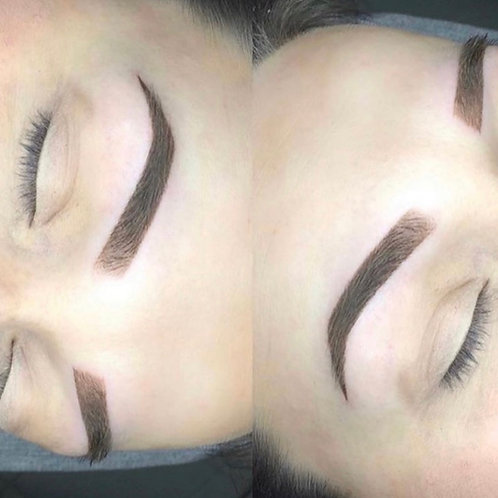 Online or in person ombre powder brow training