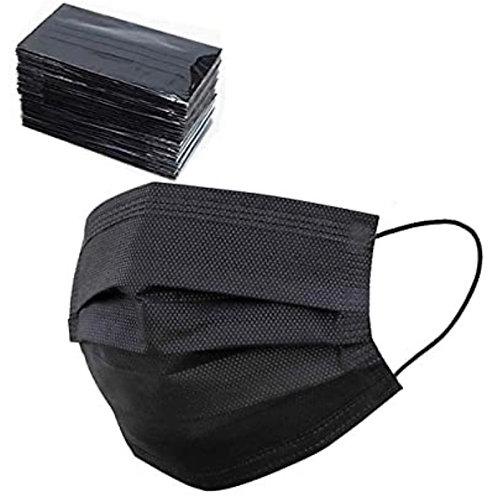 Disposable Black Face Mask (10)