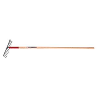 Level 16 Tine Steel Head Rake